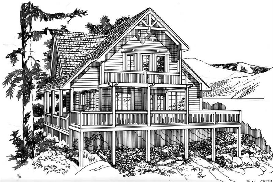 Cabins Vacation Homes House Plans Home Design Tiresias 17866