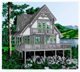 House Plan #160-1011