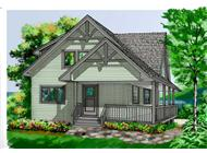 Main image for house plan # 17870