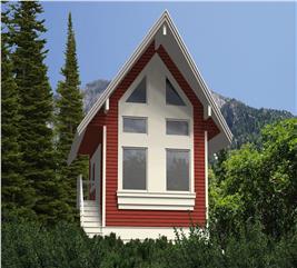 House Plan #160-1017