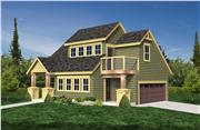 View house Plan#160-1021