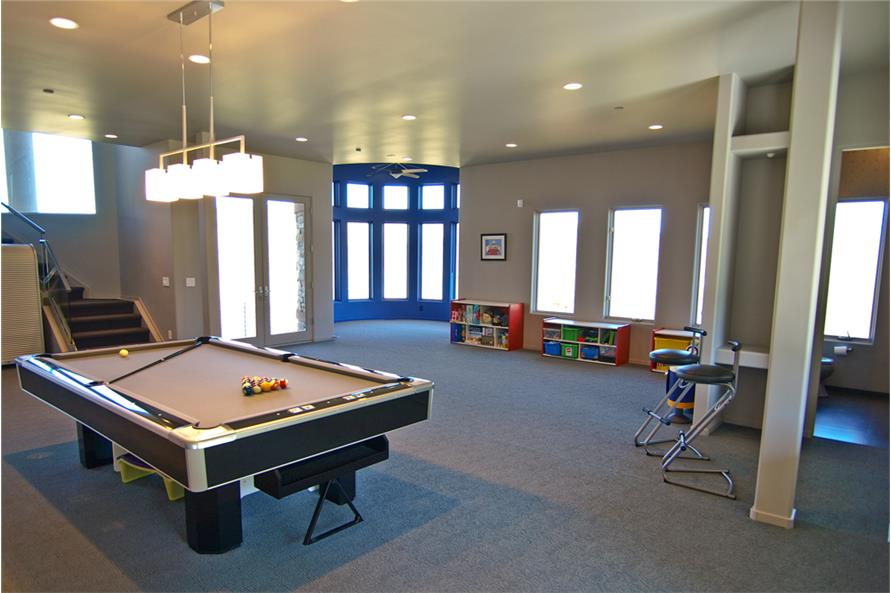 Playroom of this 4-Bedroom,7563 Sq Ft Plan -7563