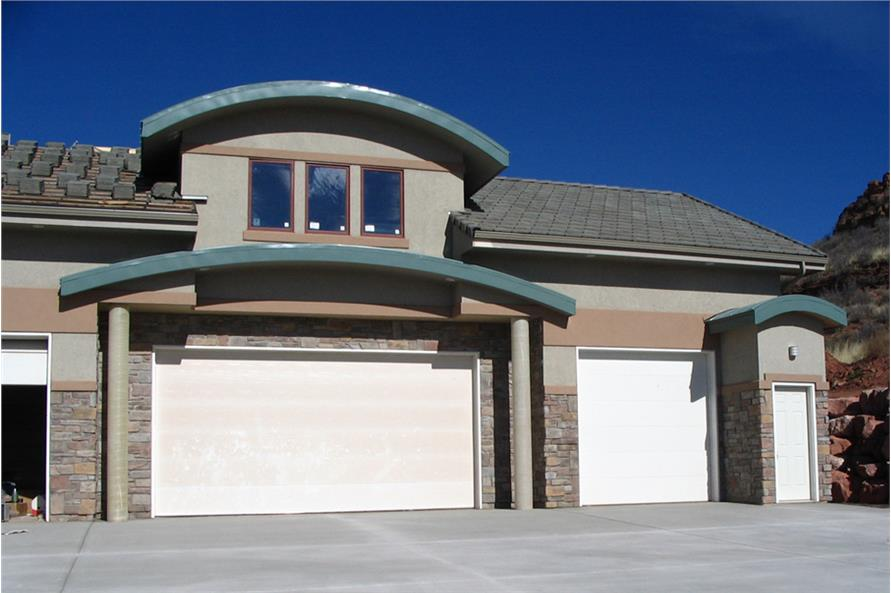 Garage of this 4-Bedroom,7563 Sq Ft Plan -7563