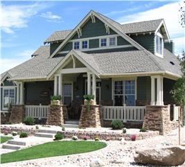 House Plan #161-1001