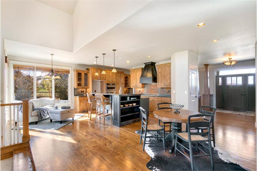Kitchen of this 4-Bedroom,3339 Sq Ft Plan -161-1001