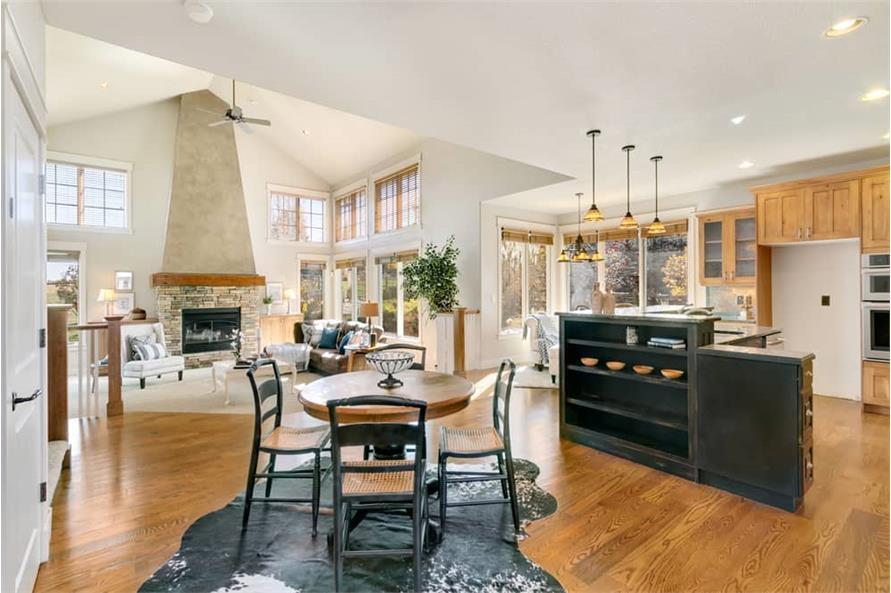 Kitchen: Breakfast Nook of this 4-Bedroom,3339 Sq Ft Plan -161-1001