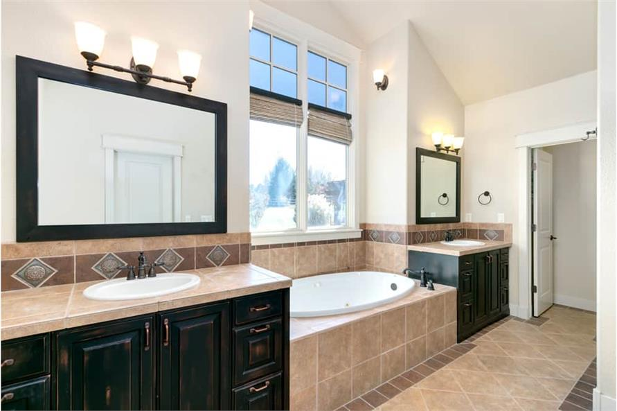 Master Bathroom of this 4-Bedroom,3339 Sq Ft Plan -161-1001