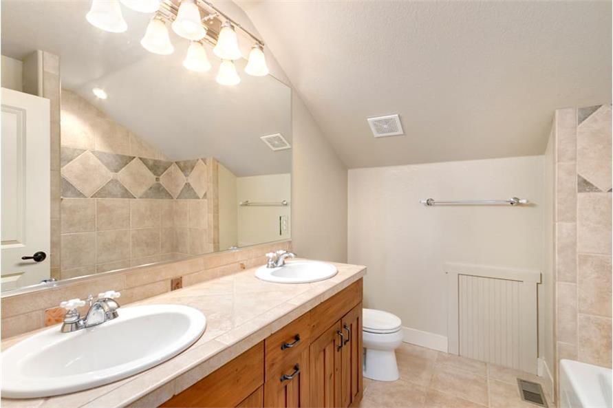 Bathroom of this 4-Bedroom,3339 Sq Ft Plan -161-1001