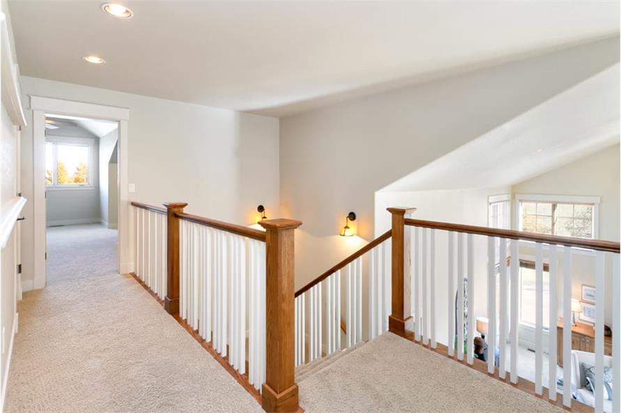 Hallway of this 4-Bedroom,3339 Sq Ft Plan -161-1001