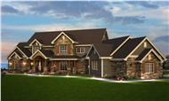This is a computer rendering of these home plans.