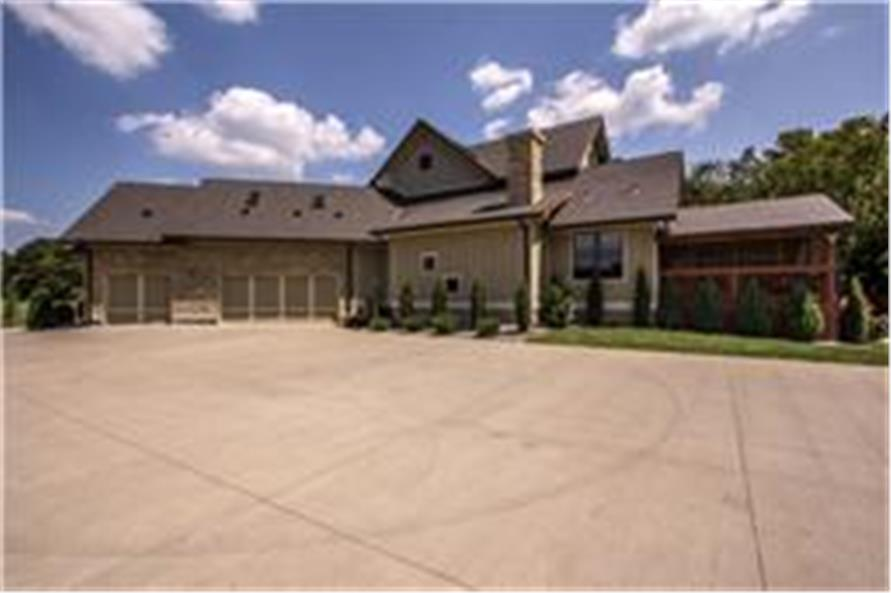 Garage of this 5-Bedroom,5164 Sq Ft Plan -5164