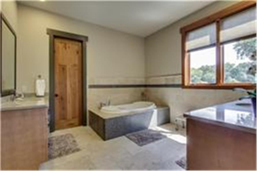 Master Bathroom of this 5-Bedroom,5164 Sq Ft Plan -5164
