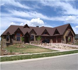 House Plan #161-1004