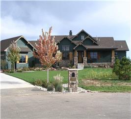 House Plan #161-1005
