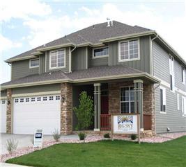 House Plan #161-1012