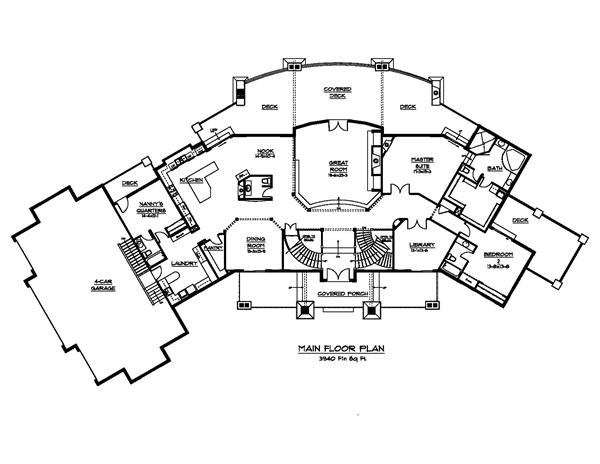 luxury house design plans images source - Luxury House Plans