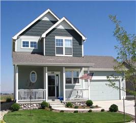 House Plan #161-1018