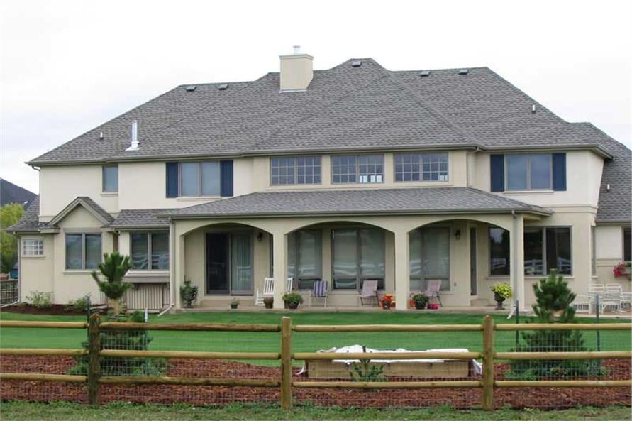 HOME PLAN BLUEWATER