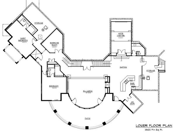 CHALET HOUSE PLAN