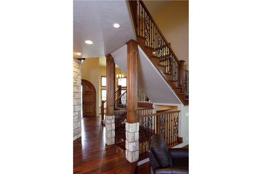 STAIRS of this 5-Bedroom,5711 Sq Ft Plan -5711