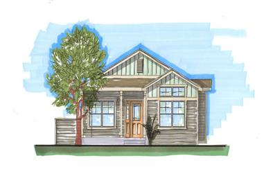 2-Bedroom, 2198 Sq Ft Craftsman Home Plan - 161-1024 - Main Exterior