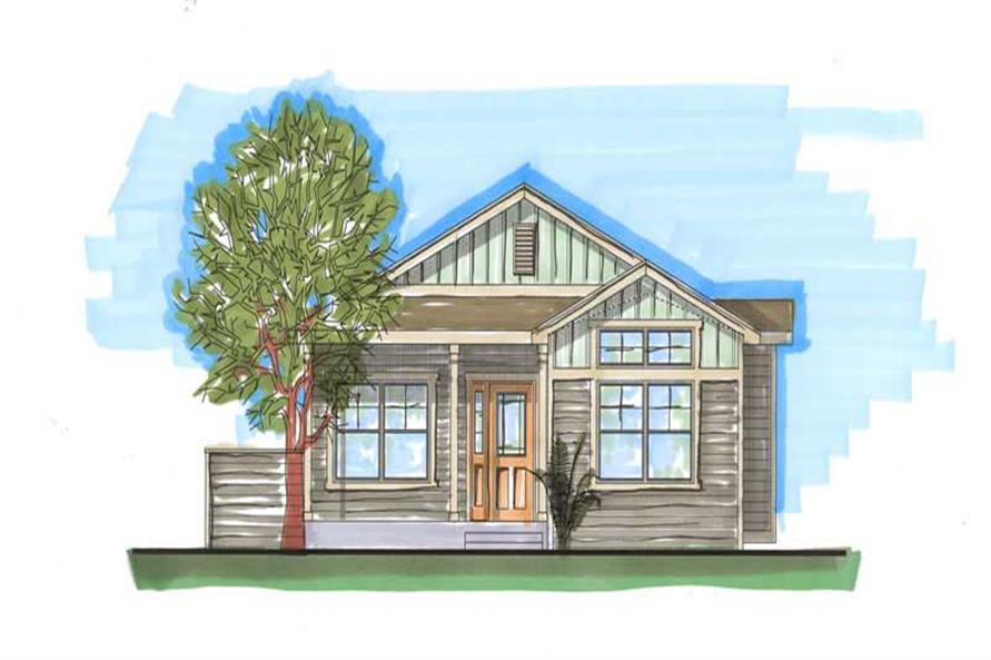 Main image for house plan # 20432