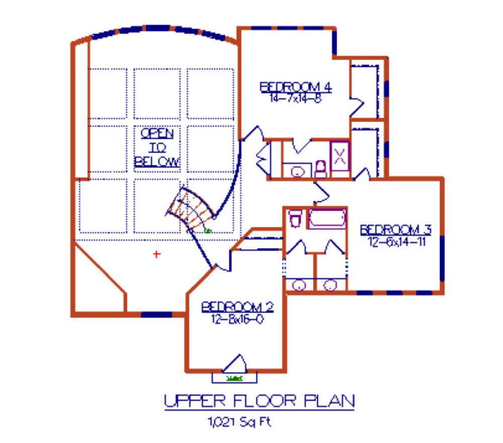 Floor Plan Second Story for luxury home plans Cerreta