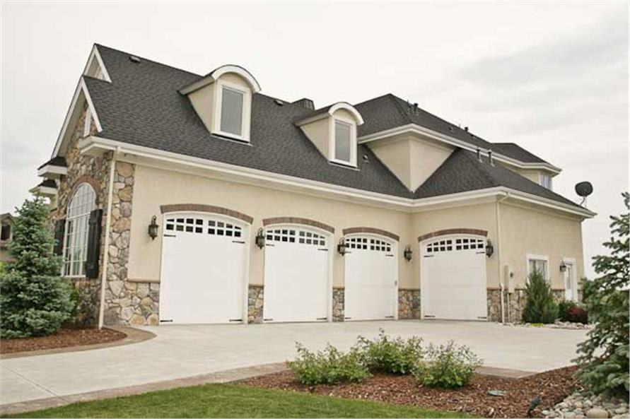 Garage of this 5-Bedroom,6403 Sq Ft Plan -6403