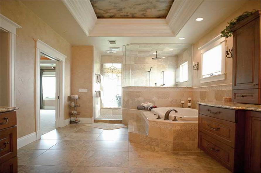 161-1030: Home Interior Photograph-Master Bathroom