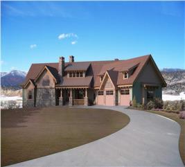 House Plan #161-1031