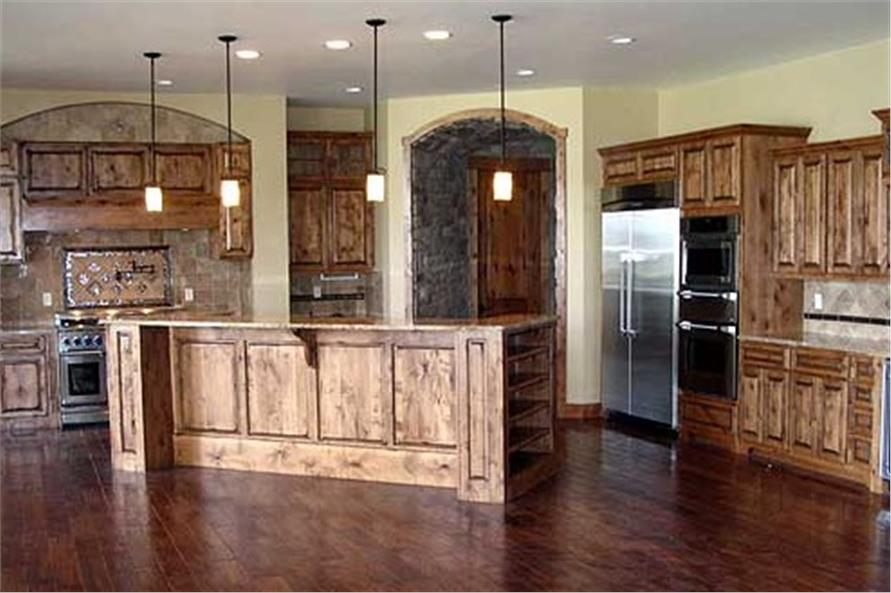 Kitchen of this 5-Bedroom,5723 Sq Ft Plan -5723