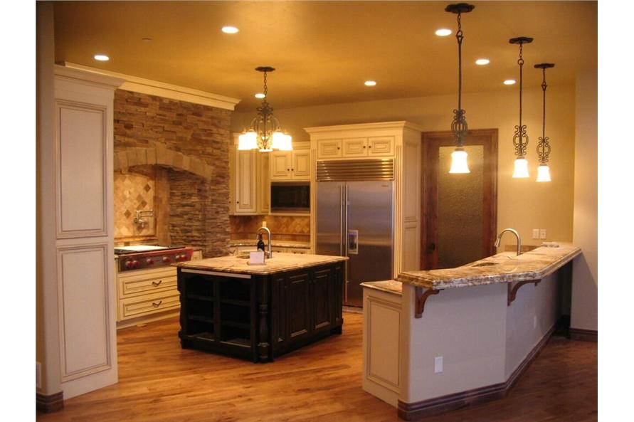 Kitchen of this 4-Bedroom,7805 Sq Ft Plan -7805