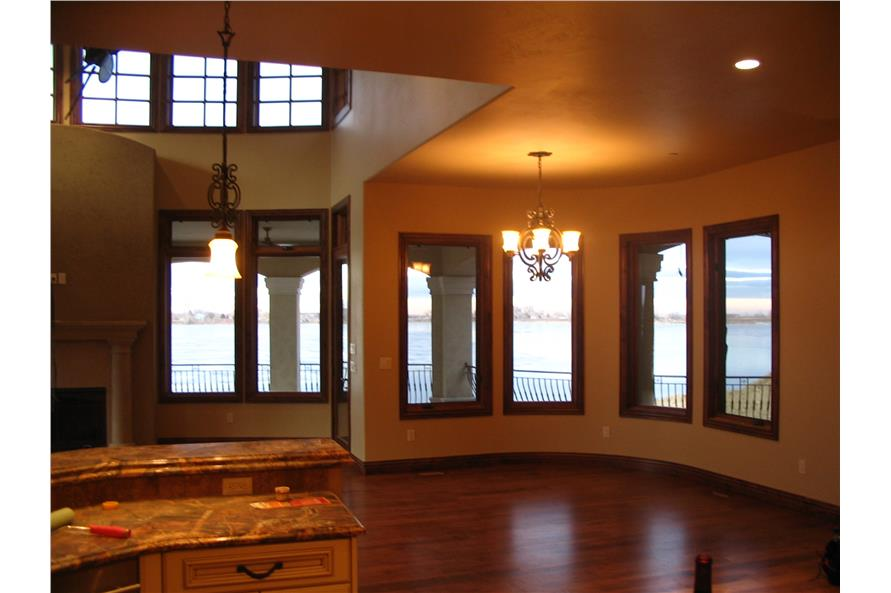 Kitchen: Breakfast Nook of this 4-Bedroom,7805 Sq Ft Plan -7805