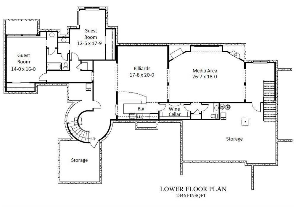 white house basement floor plan images