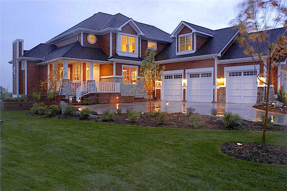 Shingle Style / Craftsman Home - Plan #161-1038.