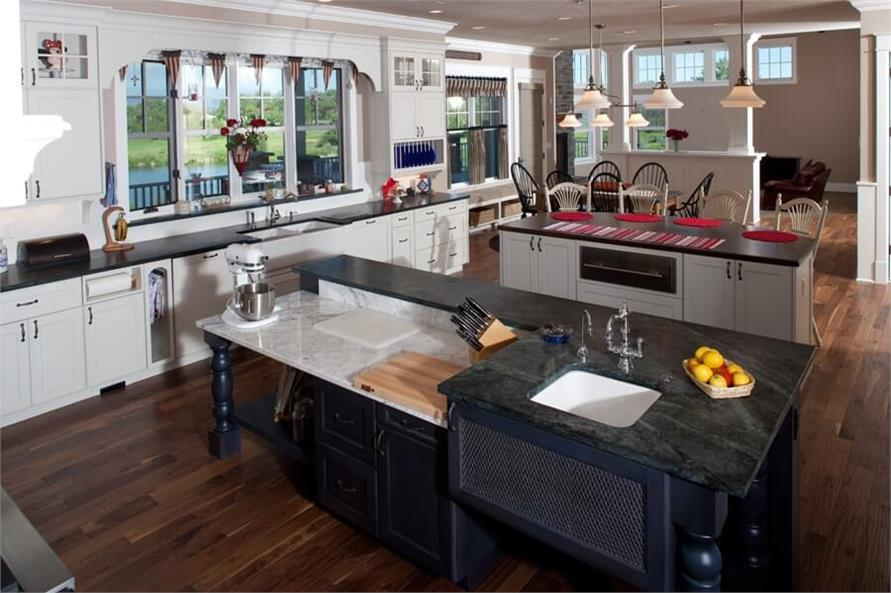 Kitchen of this 6-Bedroom,10266 Sq Ft Plan -10266