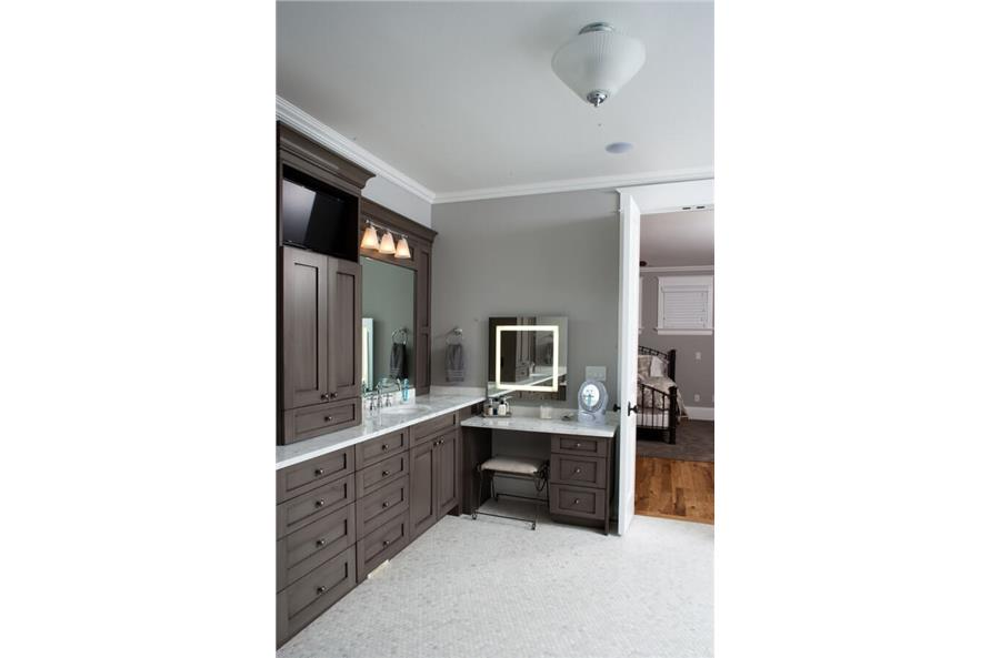 Master Bathroom of this 6-Bedroom,10266 Sq Ft Plan -10266