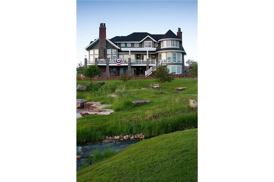 Landscaping of this 6-Bedroom,10266 Sq Ft Plan -10266