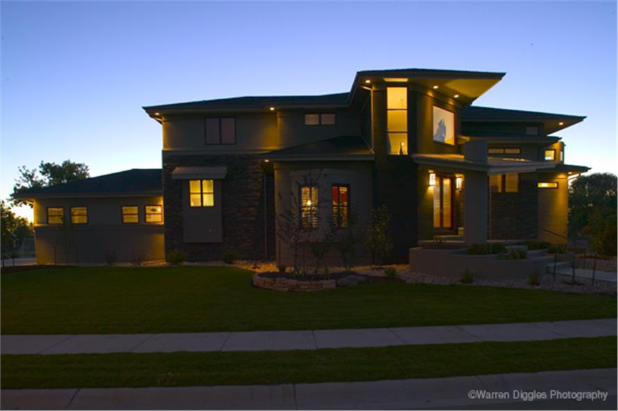 Front Photo of this 5-Bedroom,6495 Sq Ft Plan -6495