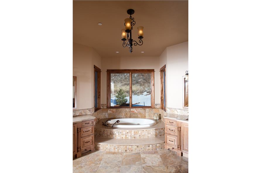 master Bath of this 3-Bedroom,4190 Sq Ft Plan -4190