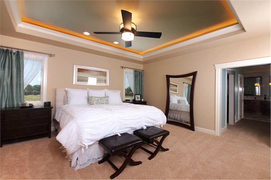 Master Bedroom of this 4-Bedroom,3307 Sq Ft Plan -3307