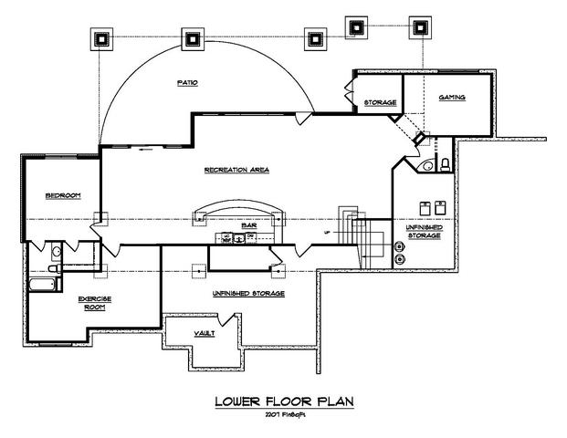 161-1054: Floor Plan Basement