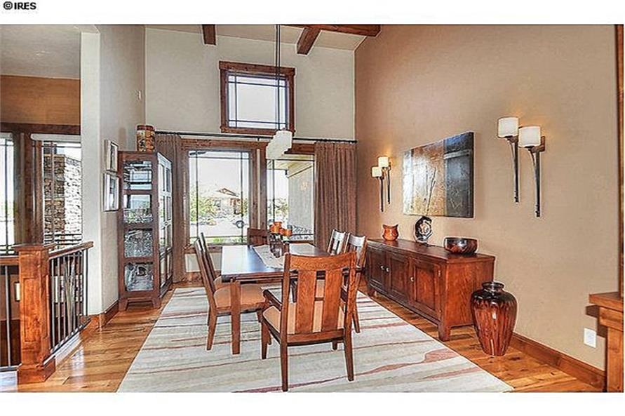 161-1058: Home Interior Photograph-Dining Room