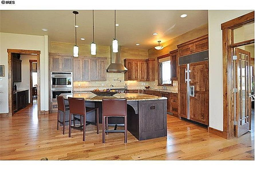 161-1058: Home Interior Photograph-Kitchen