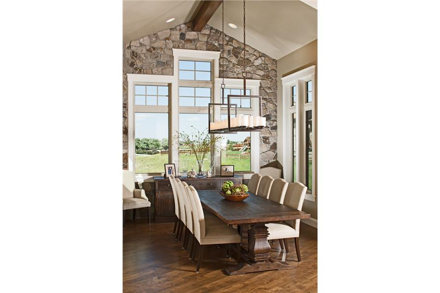 161-1067: Home Interior Photograph-Dining Room