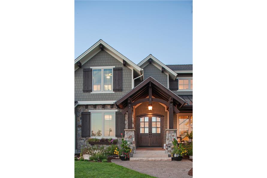 Front Door of this 4-Bedroom,3897 Sq Ft Plan -3897