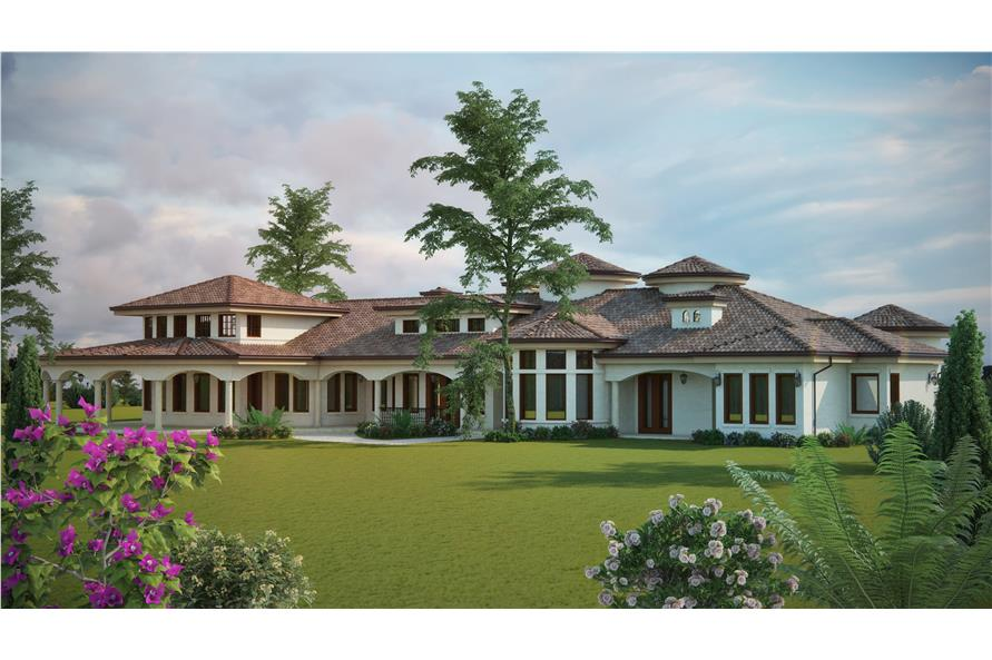 Patio of this 4-Bedroom,4660 Sq Ft Plan -4660