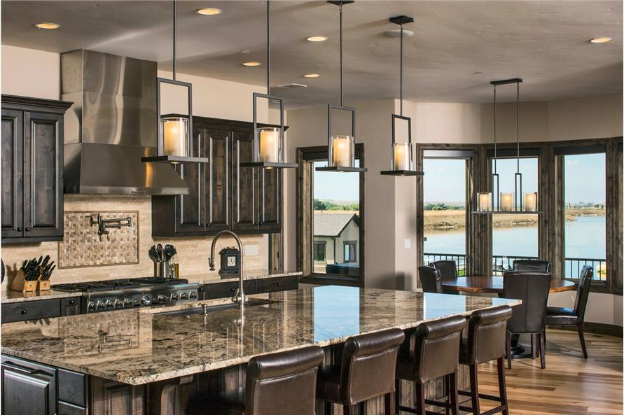Kitchen of this 4-Bedroom,5449 Sq Ft Plan -5449
