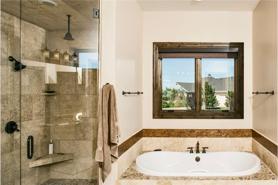 Master Bathroom of this 4-Bedroom,5449 Sq Ft Plan -5449