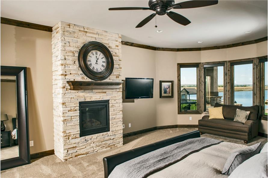 Master Bedroom of this 4-Bedroom,5449 Sq Ft Plan -5449